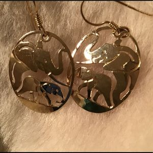 Wild Bryde Elephant Earrings